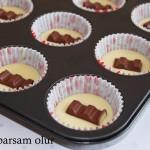Sütlü Cikolatali Muffin