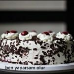 Karaorman Pastasi / Schwarzwälderkirsch Torte