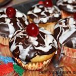 Dogum günü cikolatali Muffin