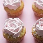 Gül Cupcakes - Rosen Cupcakes
