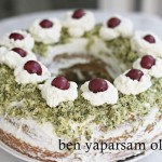 Ispanakli Visneli Halka Pasta - Spinat Sauerkirsch Torte
