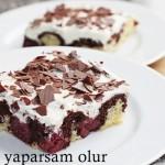 Annemin Donauwelle Tepsi Pastasi - Mamas Donauwelle Blech Kuchen